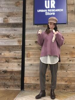 [URBAN RESEARCH Store ラゾーナ川崎プラザ店][ハギワラ]