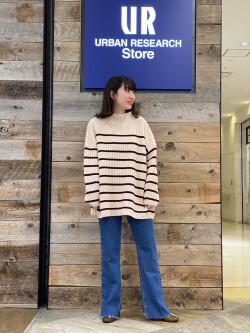 [URBAN RESEARCH Store ラゾーナ川崎プラザ店][中澤七海]