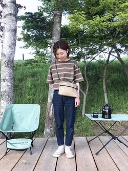 [TINY GARDEN 蓼科 CAMP・LODGE & CABINS][湯田坂 智恵美]