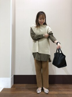 [warehouse THE OUTLETS HIROSHIMA店][藤本 景子]