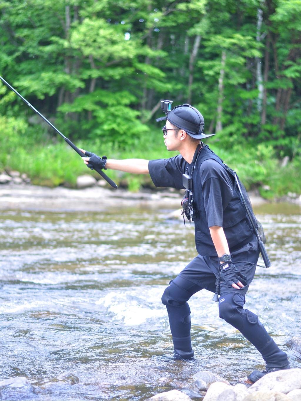 釣り 服装 渓流